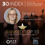 Deborah Fuhr of ETFGI